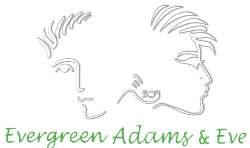 Evergreen Adams & Eve parlor